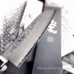 美濃 英一作をお買い上げいただいた北九州のお客さんが研ぎ直しにと送ってくださいました!