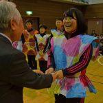 2015年12月22日 リズムダンスふれあいコンクール出場者激励