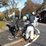 2015年12月18日 美濃市建設協力会が清掃作業を行いました