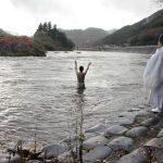 2015年12月11日 洲原神社垢離取祭復活