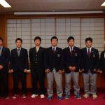 2015年12月21日 全国大会等へ出場する選手への激励会が行われました