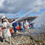 2016年1月9日 美濃市消防出初め式が行われました