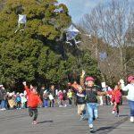 2016年1月19日 美濃市幼年消防クラブのたこ揚げ大会が行われました