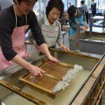 2016年2月17日 美濃・手すき和紙基礎スクールが始まりました