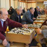 2016年2月12日 第43回美濃市高齢者囲碁将棋大会が開かれました