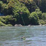 2016年5月13日 ドローンを活用した水難救助訓練が行われました。