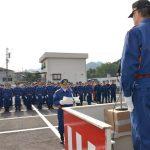 2016年4月24日 消防団入団式が行われました