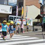 2016年5月13日 美濃ふたば幼稚園で交通安全教室が開かれました