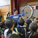 2016年4月28日 愛三工業レーシングチームの選手が小学生と交流会