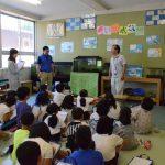 2016年5月13日 藍見小学校でウシモツゴの勉強会が行われました