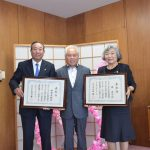 2016年5月16日 岐阜県表彰受賞報告が行われました