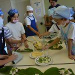 2016年6月10日 藍見小学校で朴葉ずしづくりが行われました