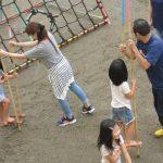 2016年6月25日 松美保育園で竹馬作りが行われました