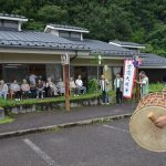 2016年7月17日 上野地区で虫送りが行われました