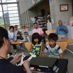 2016年7月23日 和紙の里会館企画展 Kirittai実演が行われました