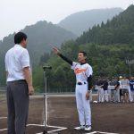 2016年7月17日 第59回町内対抗軟式野球選手権大会開幕