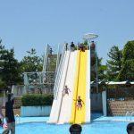 2016年7月16日 市民プールがオープンし、親子水泳教室が開催されました