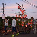 2016年8月15日 大矢田地区で送り火が行われました