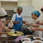 2016年8月20日 仙寿菜を使った料理教室が開かれました