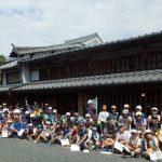 2016年7月30日 北海道士幌町の児童が美濃市を訪問しました