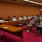2016年8月29日 士幌町訪問事業活動報告会が行われました