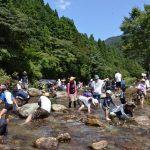 2016年7月31日 親子ふれあい魚釣り大会が開かれました