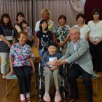 2016年8月29日 100歳到達者へ市長がお祝いを届けました