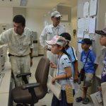 2016年8月4日 夏休みの自由研究に!上下水道施設見学会が開催されました