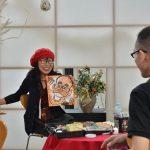 2016年9月18日 似顔絵作家小河原さんの「あなたの似顔絵、描きます」が開催されました