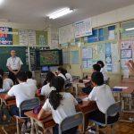 2016年9月6日 藍見小学校で福祉の勉強会が行われました