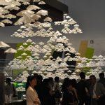 2016年9月1日 東京・南青山で「本美濃紙」を使ったアート作品の展示会