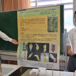 2016年8月31日 武義高校科学部のネジバナとヒメハルゼミの研究
