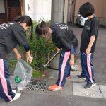 2016年9月16日 武義高校MSリーダーズ・家庭クラブ委員合同美化活動