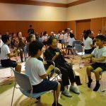2016年10月12日 牧谷小学生が美濃北デイサービスセンターを訪問