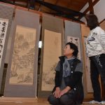 2016年11月4日 円通寺で郷土の偉人展が開かれました
