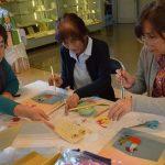 2016年11月6日 ちぎり絵体験教室が開催されました