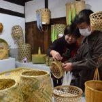 2016年11月8日 美濃の竹細工展が開かれています