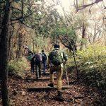 11月20日(日)に、社員健康プロジェクト「美濃名山に登ろう!!」で美濃市片知の瓢ケ岳に、10事業所36名の皆様と一緒に登ってきました。