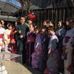 2016年11月26日 台湾からの旅行客が美濃市を訪れました。