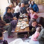 2017年1月18日 大矢田で「なごみカフェ」が開かれています