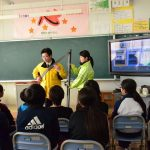 2017年2月21日 大矢田小学校でシートベルト効果体験(スクールセーフティ事業)が行われました