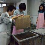 2017年2月15日 美濃・手すき和紙基礎スクールが始まりました