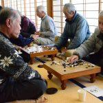 2017年2月10日 第44回美濃市シニア囲碁将棋大会が開かれました