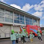 2017年2月13日 美濃市幼年消防クラブのたこ揚げ大会が行われました