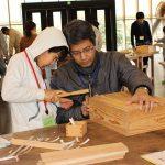 2017年2月25日 みの木育寺子屋「ミニ木工道具箱作り」が行われました