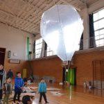 2017年2月26日 上牧生涯学習センターで「とんでけ!熱気球」