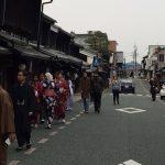 [留学生の和服体験]