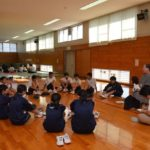 2017年6月14日 美濃中学校で少年非行防止タウンミーティングが行われました