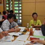 2017年6月20日 森林文化アカデミーで「美濃町弁聴き取り授業」が開催されました
