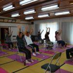2017年6月12日 上松森シニアクラブの体操クラブの活動
